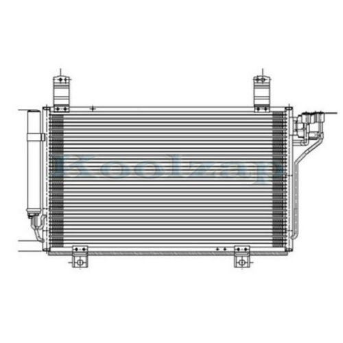 Air Condition A//C Cooling Condenser Assembly KF0361480A KF0361480B MA3030161
