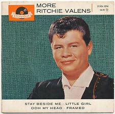 "7"" EP - Ritchie Valens - More Ritchie Valens - Polydor 21904 EPH - DE 1964"
