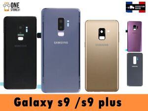 vitre-arriere-couvercle-cache-batterie-Samsung-Galaxy-S9-S9-plus-Avec-lentille