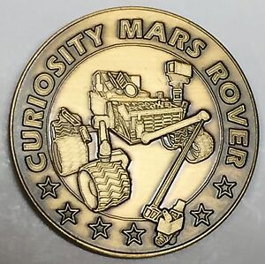 MARS  ROVER MISSION N622   NASA  SPACE  COIN MARS  2020 MEDAL