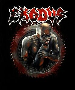 EXODUS-cd-lgo-SALT-THE-WOUND-Official-SHIRT-XL-New-blood-in-blood-out