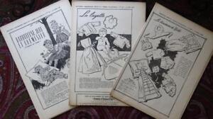 Bastel- & Künstlerbedarf Zuversichtlich 3 Rare Franz Original 50erj Schnittmuster Patron Babykleidung 2 100% Original