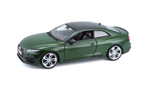 Bburago-1-24-2019-Audi-RS-5-Coupe-Diecast-Model-Sports-Racing-Car-Green-IN-BOX