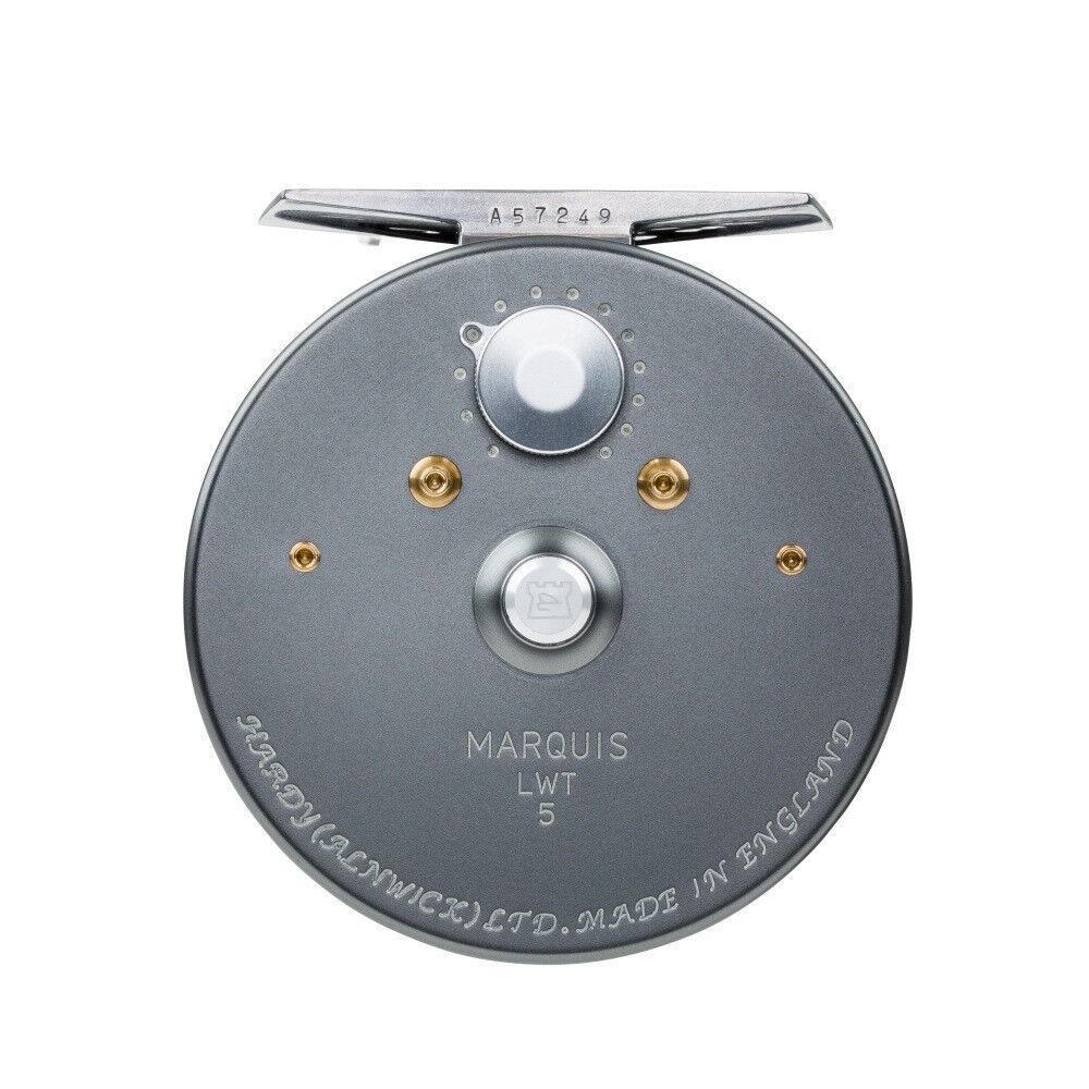 Nuevo Hardy Marquis 2 3 Reel para  1 2 3 Barra De Peso Hecho en Reino Unido Gratis  85 línea