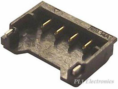 4WAY Preis für 10 Molex 78171-0004 Verbindungs-,1.20MM