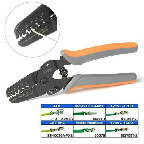 Metall Crimpen Werkzeug Crimper Kabel Offen Klemmen IWS-2820M 17.5x10x3cm