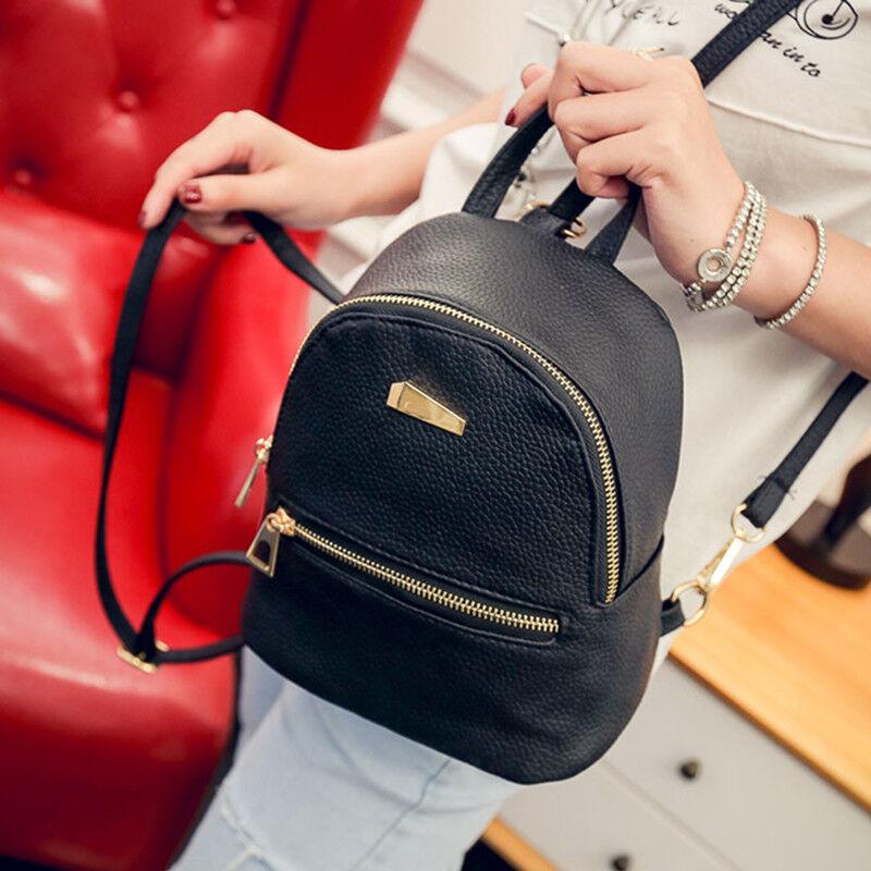 ba9251069b22e 1Pc Mini Backpack Purse Small Backpack Shoulder Rucksack Bag for Women Girls  5 5 of 11 ...