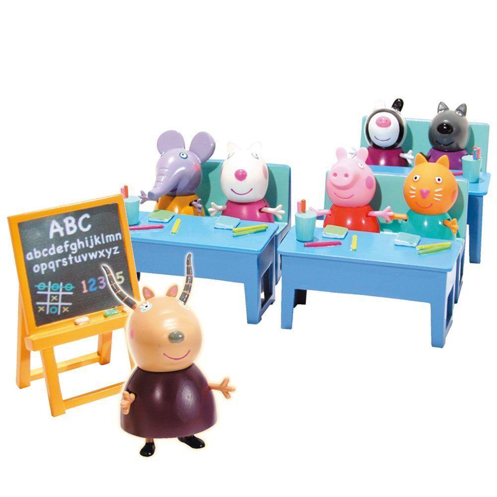 Peppa Pig Auf geht es al Schule Kindergarten pig+6 Freunde angekündigt TV