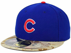 Official MLB 2015 Chicago Cubs Memorial Day New Era 59FIFTY Fitted ... 7cd13b2be20