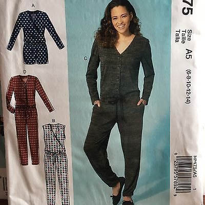 McCall/'s 7203 Misses/' Romper and Jumpsuits   Sewing Pattern
