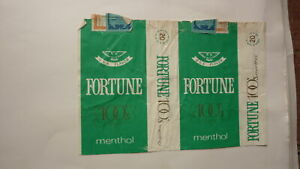 OLD-EMPTY-CIGARETTE-PACKET-LABEL-FROM-PHILIPPINES-FORTUNE-100s-MENTHOL