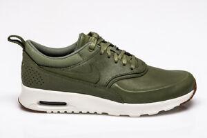 Details zu Womens Nike Air Max Thea Premium Trainers Green Brown Wheat