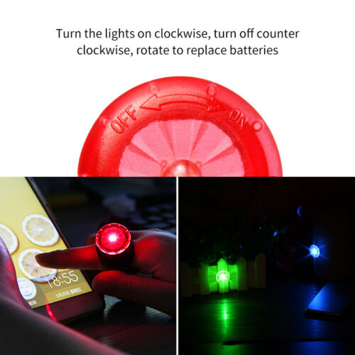 Bicycle Rear Safety Light Waterproof Bike Cycling Warning Tail LED Light Lamp