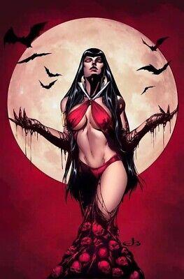 Vampirella #1 Port City Comics Exclusive Variant Jen Broomall Virgin Dynamite