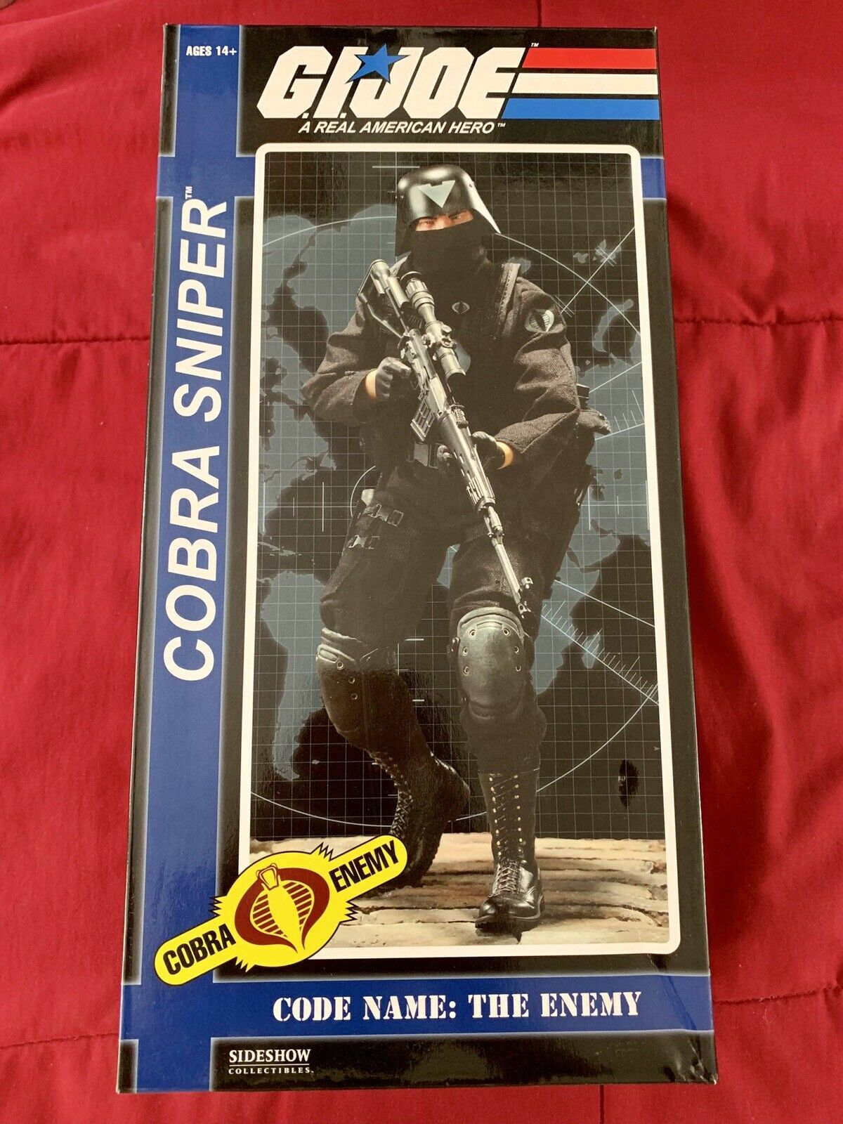 Sideshow Collectibles G.I. Joe Cobra Sniper The Enemy 1 6 New
