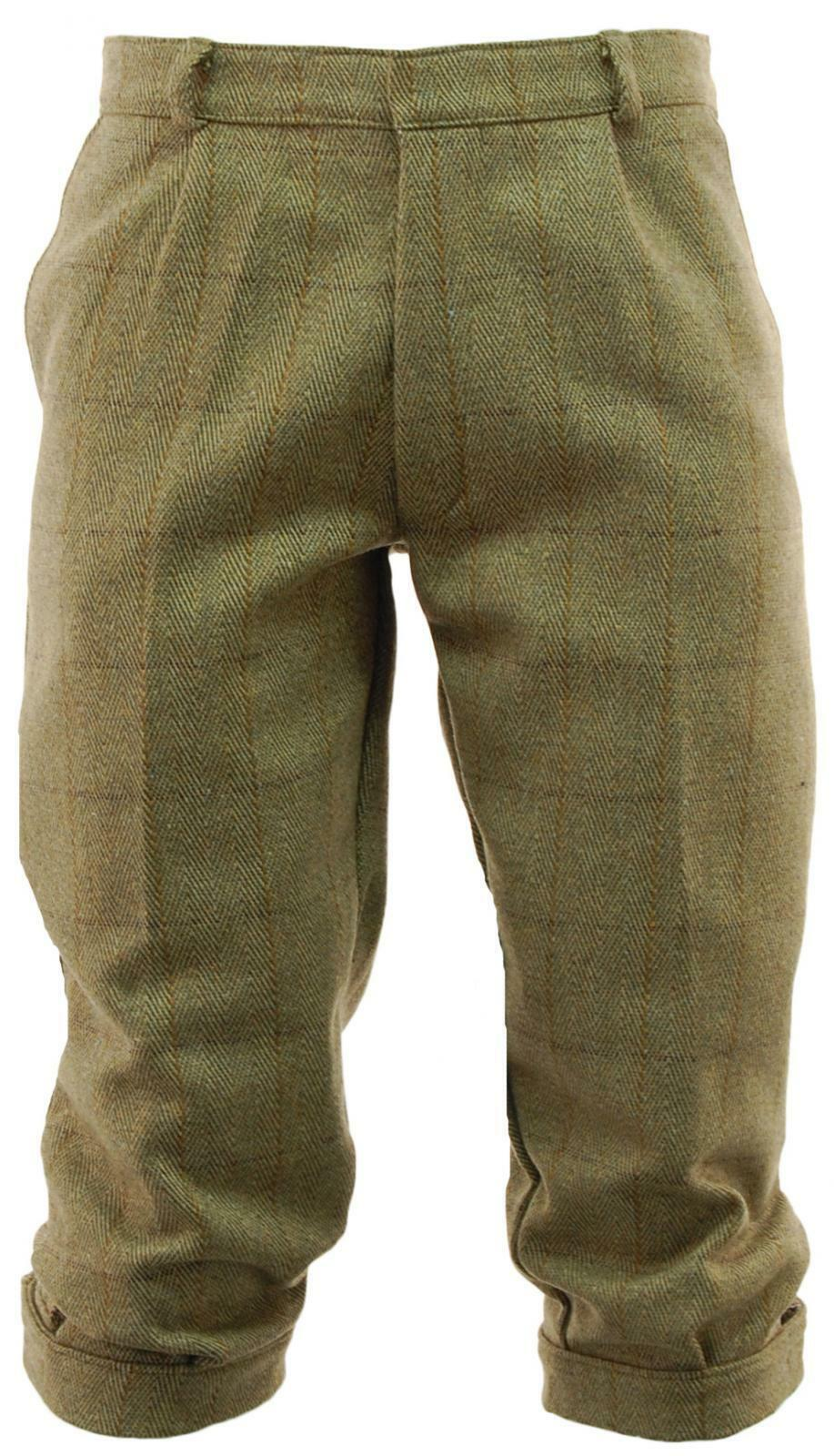 Game Mens Light Derby Tweed Breeches Breeks Trousers   Hunting Shooting Outdoors