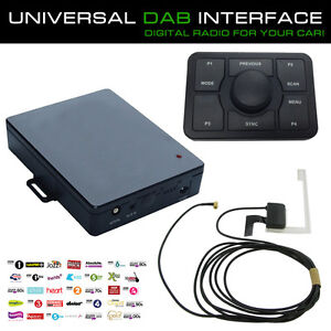 universal digital autoradio dab schnittstelle adapter mit. Black Bedroom Furniture Sets. Home Design Ideas