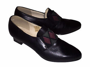 Simona Fashion Damen Schuhe schwarz Leder Gr.4 37 (8433-1)