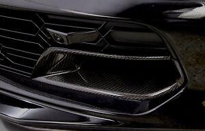 Details about C7 Stingray Z06 Grand Sport Corvette Carbon Fiber Front Brake  Duct Inserts