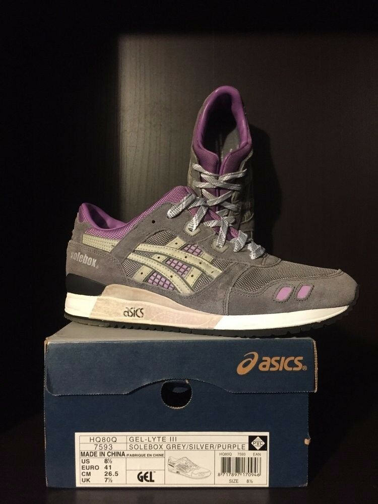 2008 Solebox x Asics GLIII  The Sun  - Size 8.5 (Branded) - EXTREMELY RARE