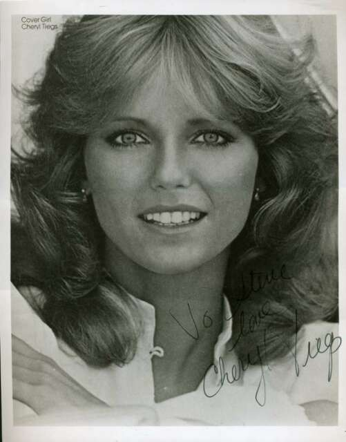CHERYL TIEGS PSA DNA Coa Hand Signed 8x10 Photo Autograph Authentic