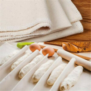 Proofing Linen Flax Fermented Cloth Dough Bakers Pans Ebay