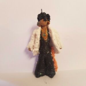 PRINCE You've Got The Look CHRISTMAS ORNAMENT Hand Made Polymer Clay OOAK