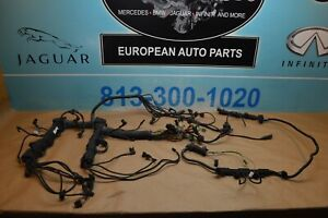 2008 BMW E60 550I ENGINE WIRING HARNESS COMPLETE AUTOMATIC