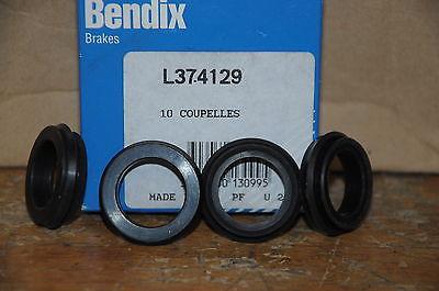 4 COUPELLES de cylindre frein maitre cylindre bendix  L374112  37MM 24MM 7MM