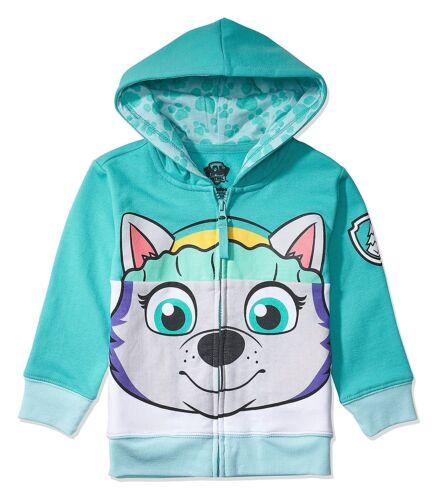 Ryder,... Nickelodeon Paw Patrol personnage Big Face Zip-up hoodies-Skye