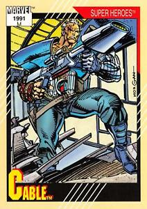 CABLE-Marvel-Universe-Series-2-Impel-1991-BASE-Trading-Card-15