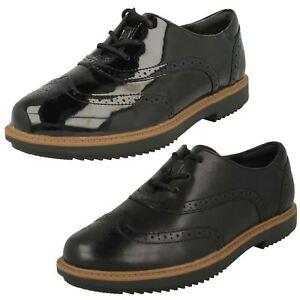 altura Así llamado Evaluación  Clarks Ladies Brogue Shoes 'Raisie Hilde' | eBay