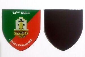 Magnet-flexible-insigne-regimentaire-du-13-DBLE-LEGION-ETRANGERE-6-x-5-5-cm
