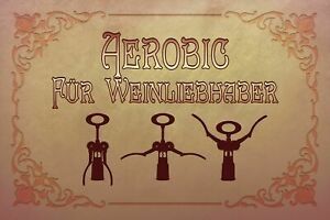 Aerobics-for-Wine-Lovers-Tin-Sign-Shield-Arched-Tin-Sign-20-x-30-cm-CC0977