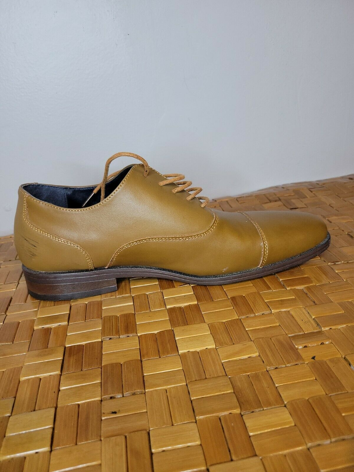 Joseph Abboud Brown Leather Dress Shoes Size 11Tan Light Brown