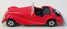 1978 Tomy Tomica F26 MORGAN PLUS 8 red w/ black interior diecast