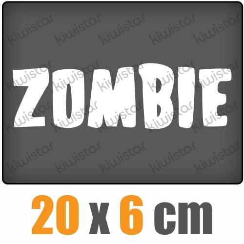 Zombie mot csf0494 20 x 6 cm JDM sticker autocollant