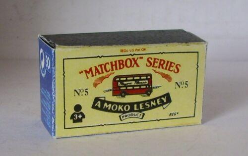 Repro box Matchbox 1:75 nº 05 bus china