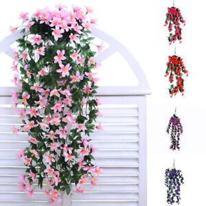 Am-1Pc-Artificial-Flowers-Vine-Ivy-Leaf-Garland-Floral-Wedding-Party-Home-Decor