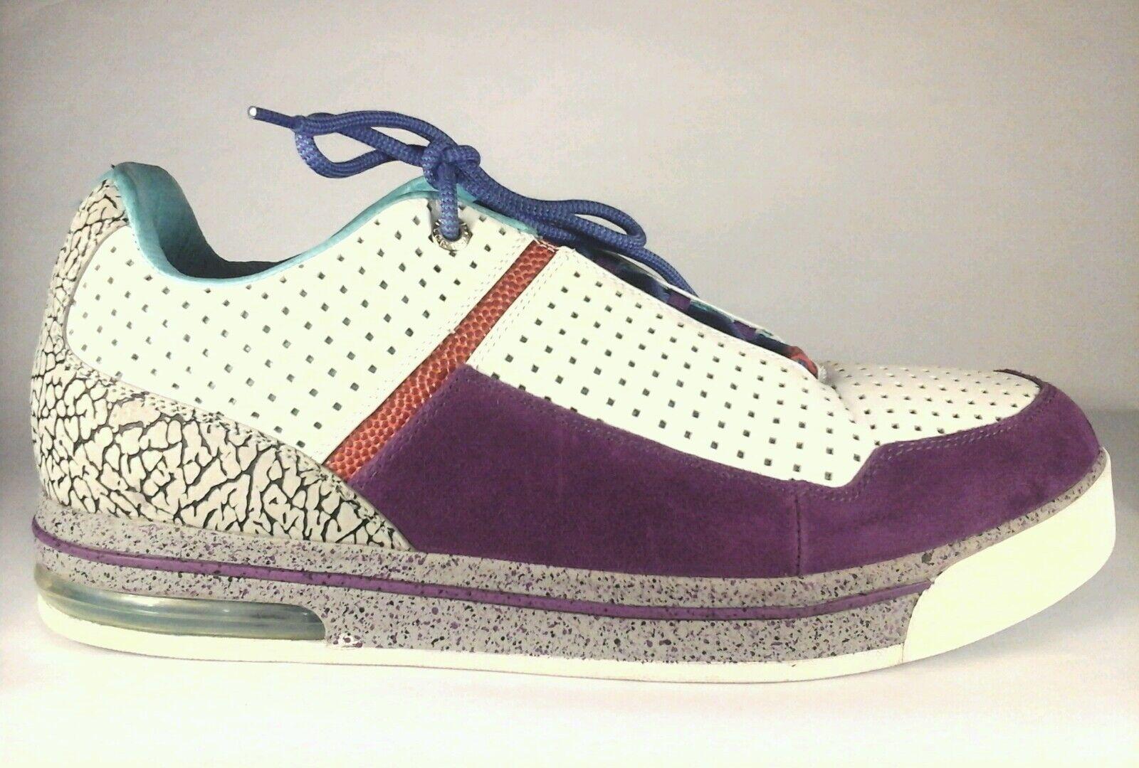 Undr Crwn Sneakers Shoes White Cyan Elephan MENS Sz US 16 RARE