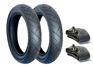 SET OF TYRES & TUBES FOR BUGABOO PUSHCHAIRS - POSTED FREE 1ST CLASS