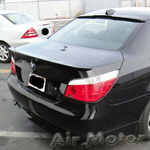 combo bmw e60 a roof trunk spoiler wing 520i 535i 545i. Black Bedroom Furniture Sets. Home Design Ideas