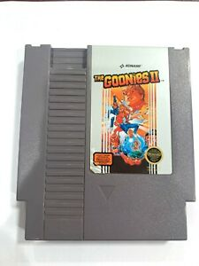 The Goonies II 2 NES ORIGINAL NINTENDO NES GAME Tested WORKING Authentic