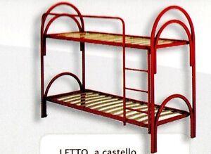 LETTO FERRO CAMERA LETTI CASTELLO SINGOLI SINGOLO CAMERE CASTELLI ...