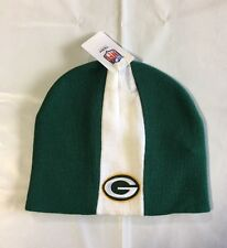 Green Bay Packers Knit Beanie Winter Hat Toque Skull Cap NEW Skunk - Green
