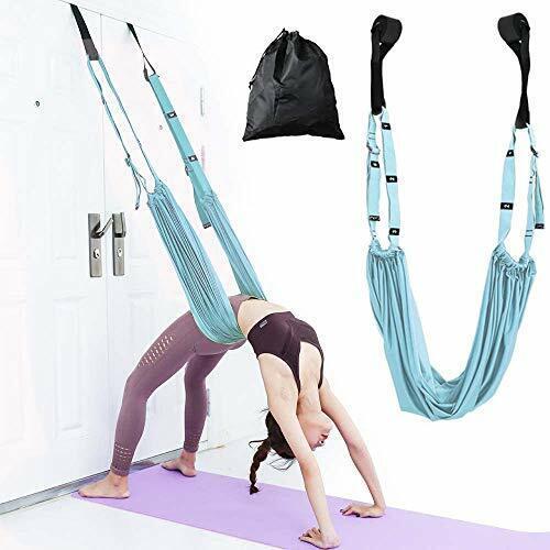 Adjustable Height Leg Stretcher Waist Back Stretch Band Yoga Stretching Strap
