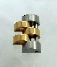 NOS 18K & Steel Rolex Datejust 12mm Mid sized Jubilee Watch Band Link 6827 Part