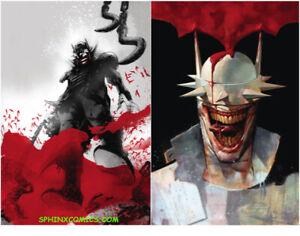 BATMAN-WHO-LAUGHS-5-MAIN-amp-VARIANT-COVERS-SET-2-JOCK-KALVACHEV-DC-COMICS-HOT