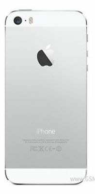 NEW IPHONE 5S METAL BACK COMPLETE REAR BATTERY COVER HOUSING WHITE SILVER