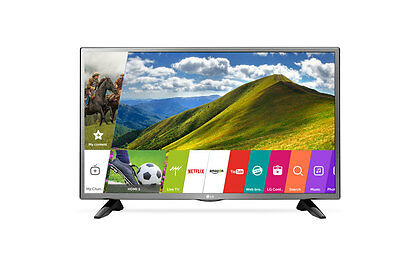 "New 2017 LG 32"" SMART LED HD 32LJ573D TV USB Movie  LG LED TV 1+1 Yr LG Warranty"